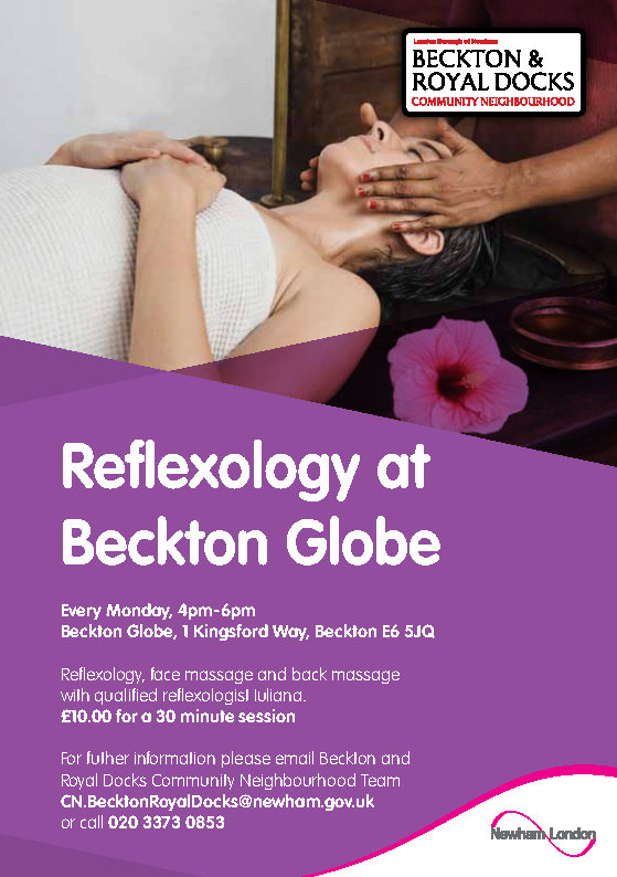 reflexology at beckton